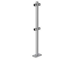 Chrome Barrier UPRIGHT MIDDLE